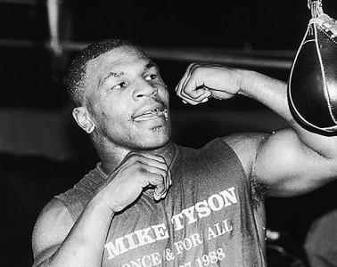 Mike Tyson Boxing Training
