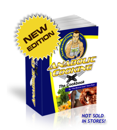 build muscle naturally with anabolic cooking