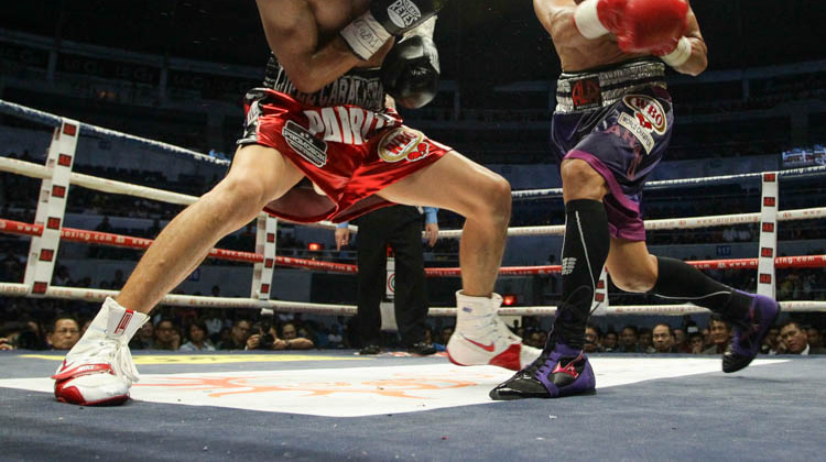 improve footwork in boxing