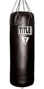 TITLE Leather Classic Heavy Bag