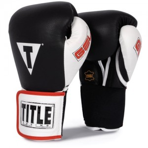 TITLE Gel Hook & Loop World Training Gloves