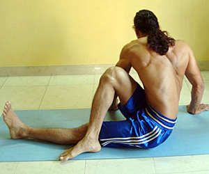 Seated Torso Twist Stretch - Flexibility Exercises