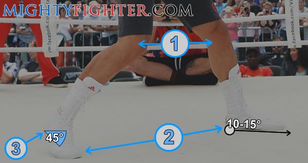 proper boxing stance