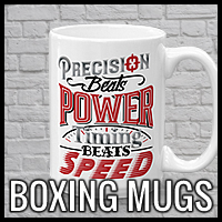 Boxing, MMA, Combat Sports and Fight Mugs