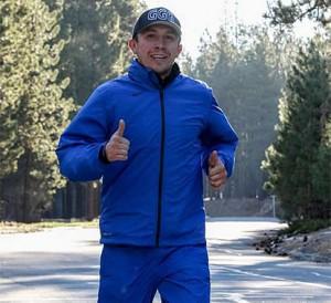 Gennady Golovkin Running at High Altitude