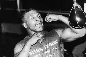 Mike Tyson Boxing Training