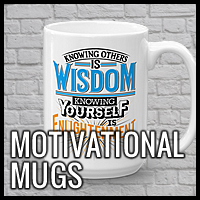 Motivational and Inspirational Mugs