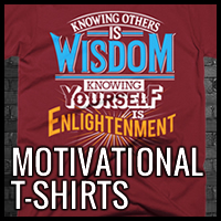 Motivational and Inspirational T-Shirts