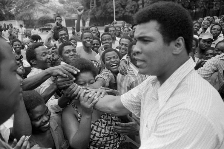 Muhammadi Ali and his fans