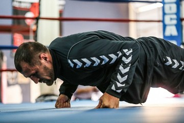 Sergey Kovalev Boxing Training