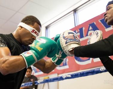Shawn Porter Boxing Training