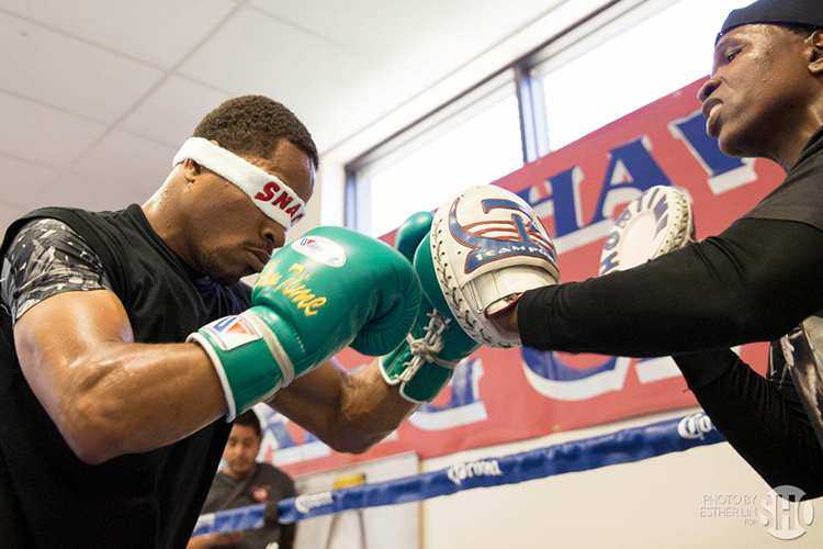 Shawn Porter Boxing Training