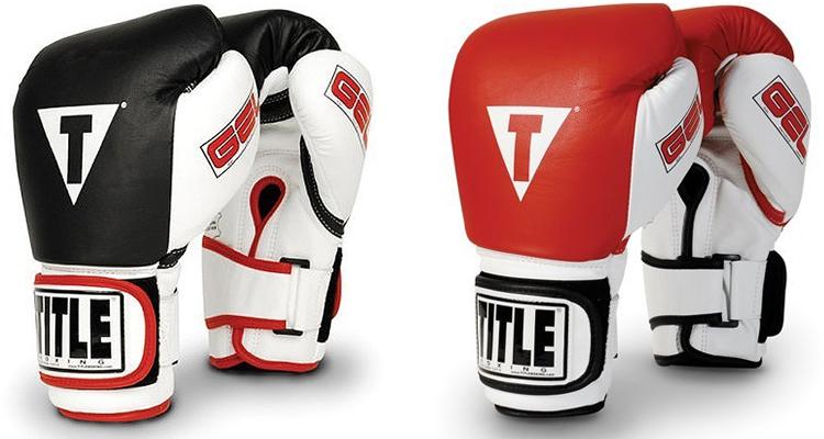 TITLE Gel World Bag Boxing Gloves