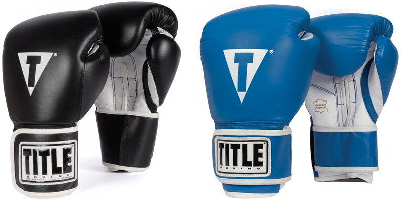TITLE Pro Style Boxing Bag Gloves